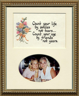 1125 Count Your Life Photo Frame