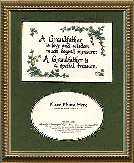 1129 Grandfather Photo Frame