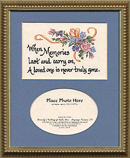 1143 Memories Last Photo Frame